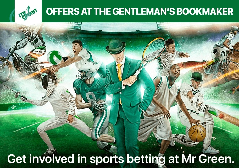 Get involved in sports betting at Mr Green