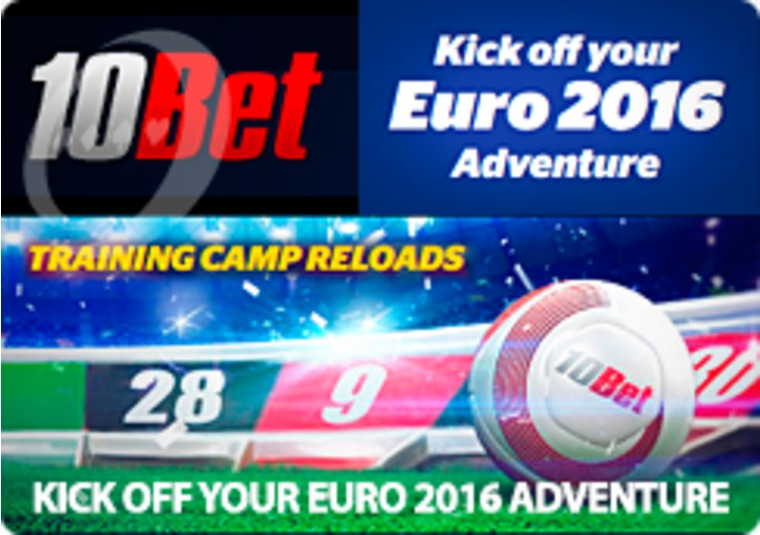 New promotions available every day throughout Euro 2016 at 10Bet