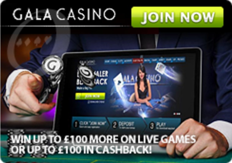 Get a bonus if you win and a bonus if you lose at Gala Casino