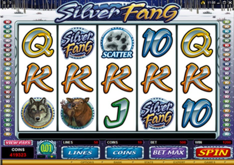 Silver Fang at Virgin Casino
