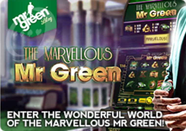 Enter the Wonderful World of the Marvellous Mr Green