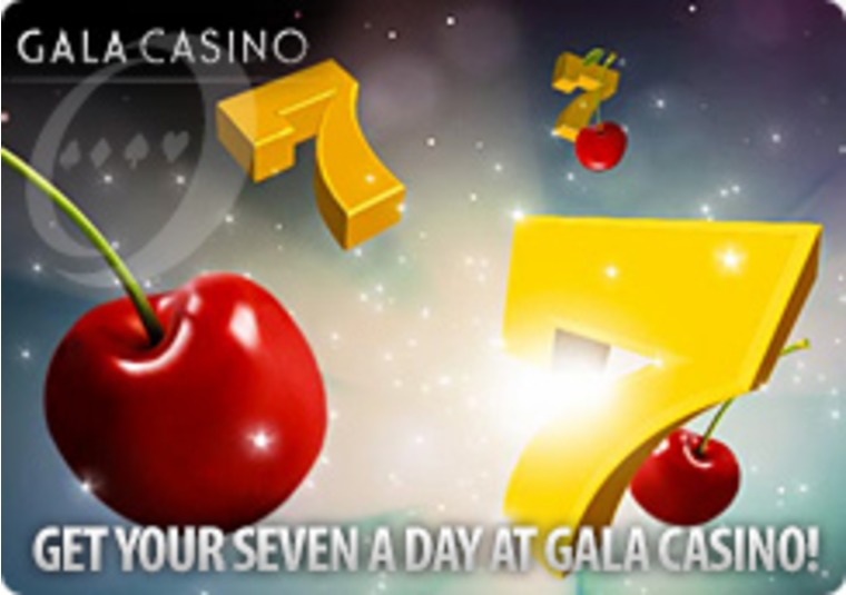 Get Your Seven a Day at Gala Casino