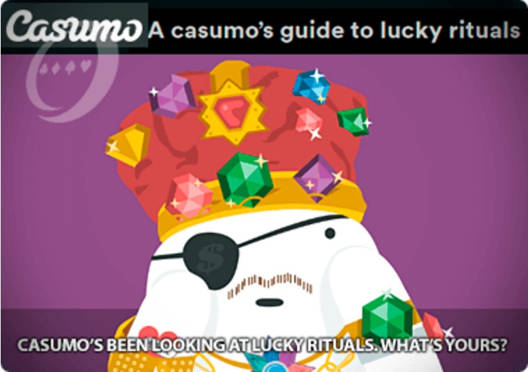Casumo's been looking at lucky rituals. What's yours?