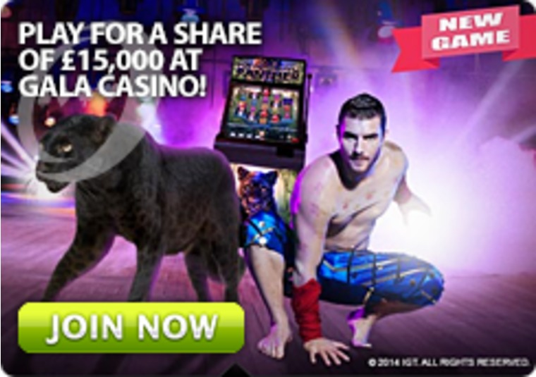 Play for a Share of £15,000 at Gala Casino