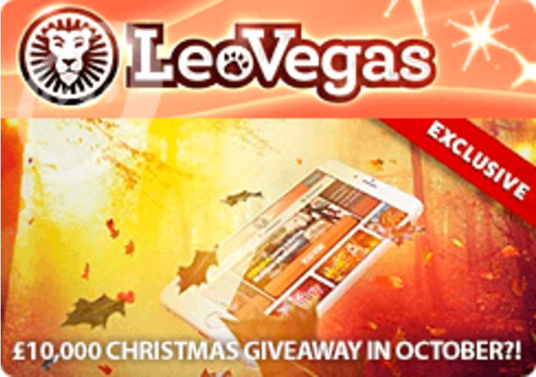 Christmas has come early at LeoVegas with this £10k giveaway