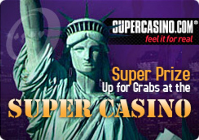 Super Casino Offers Trip to New York Prize