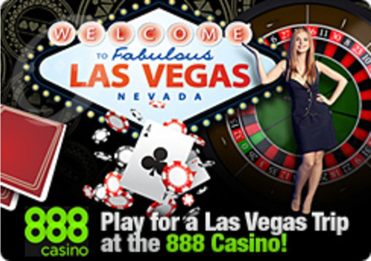 Play for a Las Vegas Trip at the 888 Casino