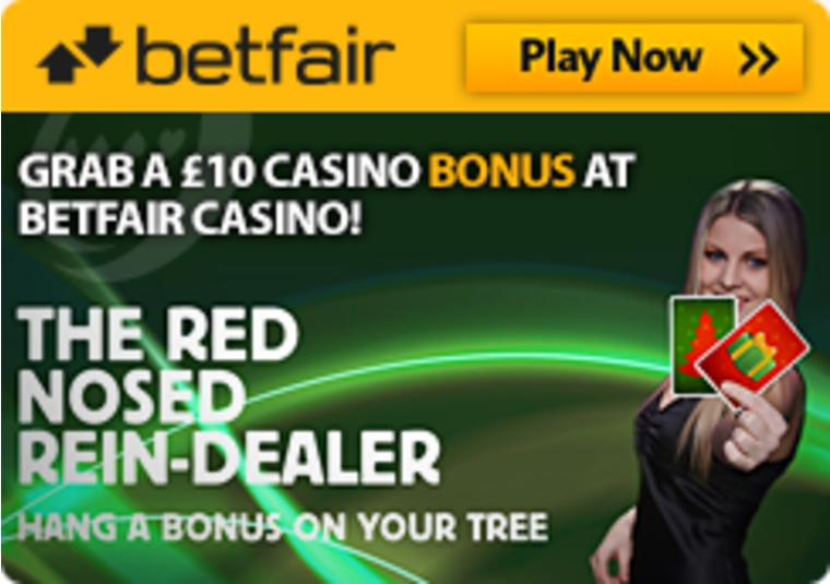 Grab a £10 Casino Bonus at Betfair Casino