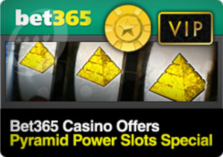 Bet365 Casino Offers Pyramid Power Slots Special