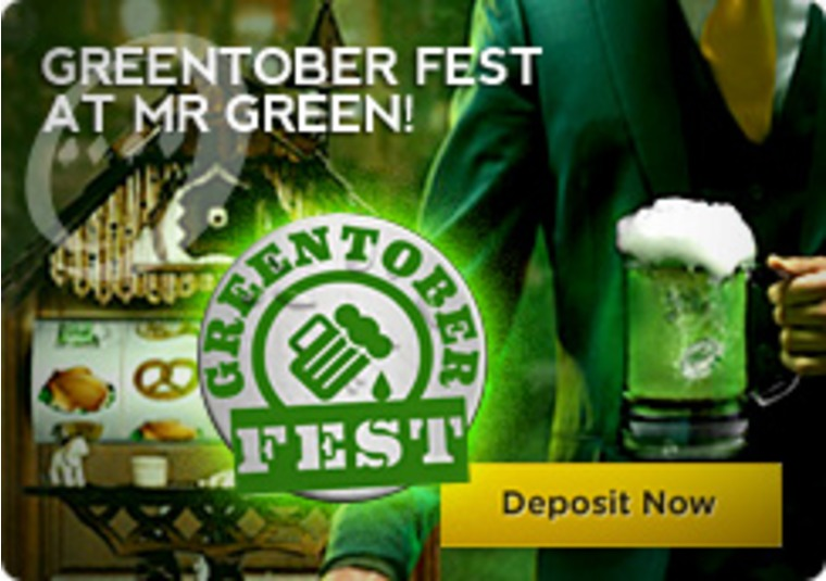 Greentober Fest at Mr Green