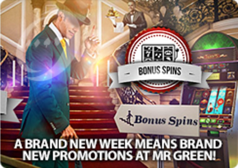 A Brand New Week Means Brand New Promotions at Mr Green