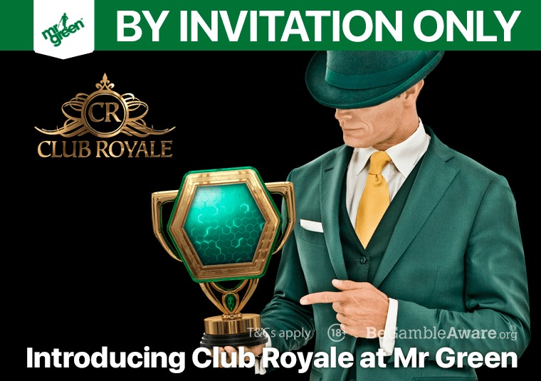 Introducing Club Royale at Mr Green