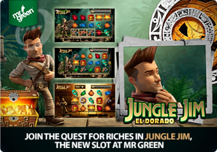 Join the quest for riches in Jungle Jim, the new slot at Mr Green