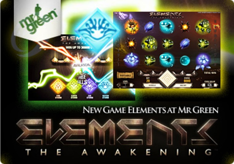 New Game Elements at Mr Green