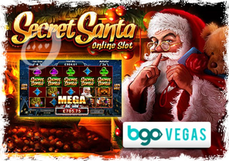 Secret Santa Slot Game Launches at bgo