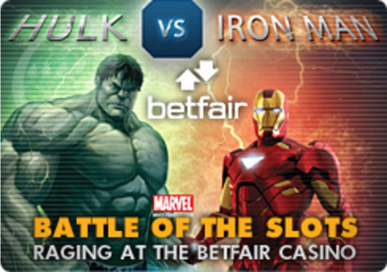 Battle of the Slots Raging at the Betfair Casino
