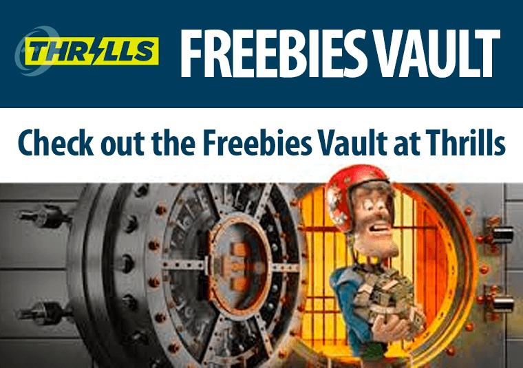 Check out the Freebies Vault at Thrills