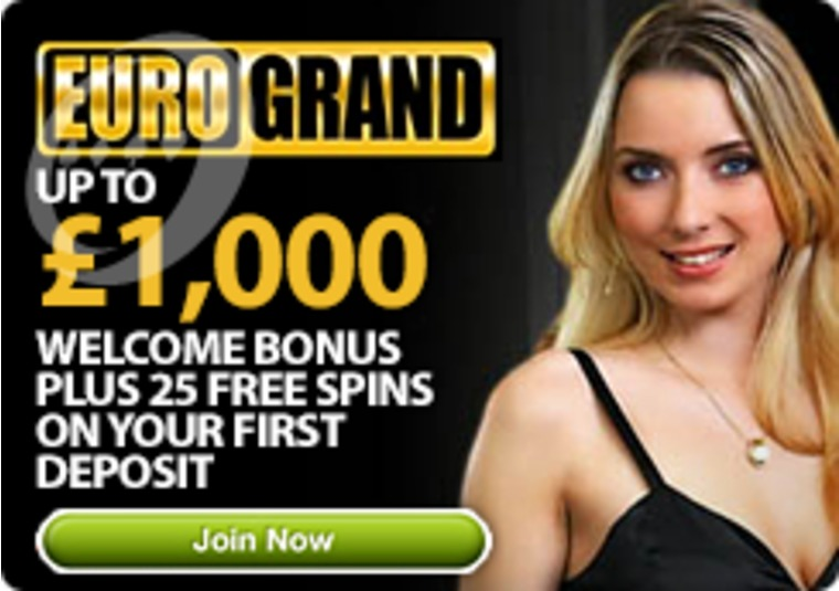 Up To £1,000 Welcome Bonus Plus 25 Free Spins On Your First Deposit