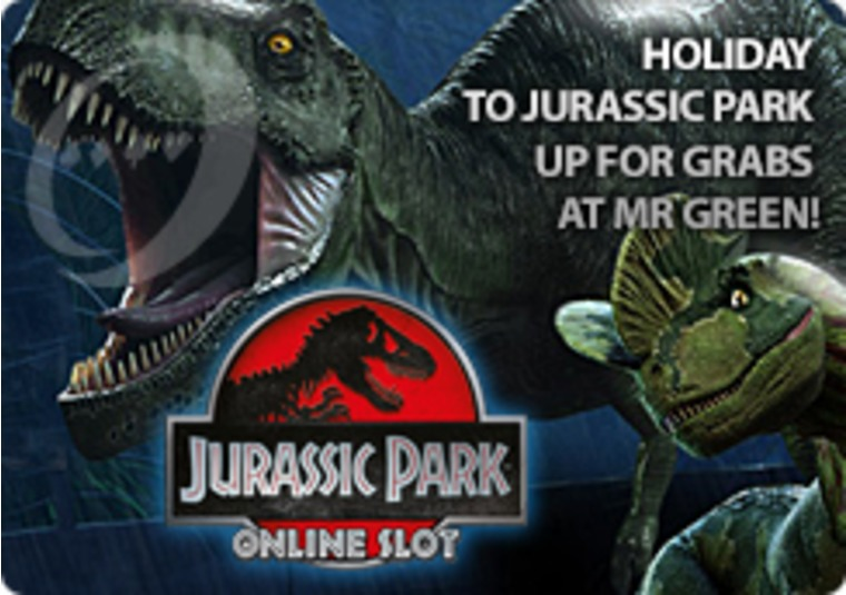 Holiday to Jurassic Park Up For Grabs at Mr Green