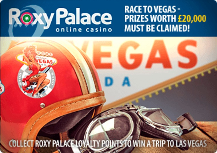 Collect Roxy Palace loyalty points to win a trip to Las Vegas