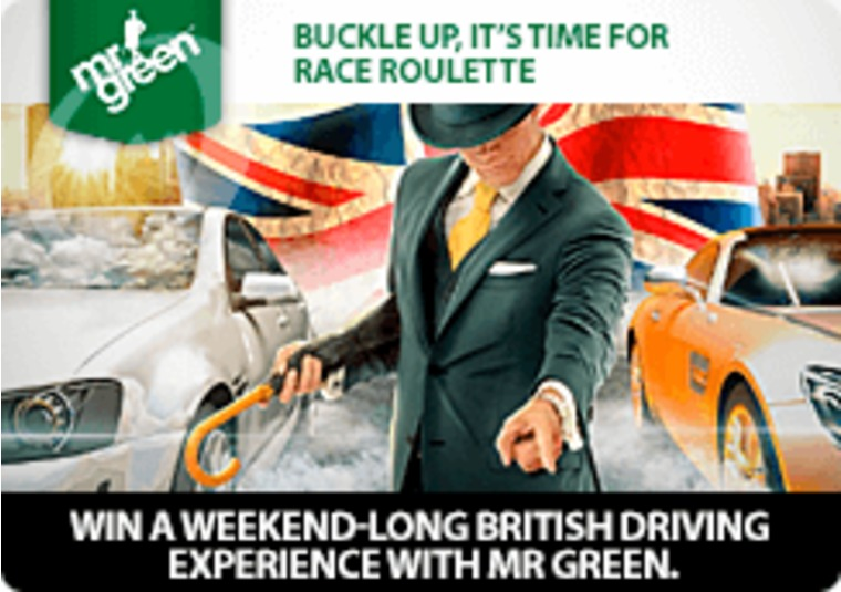 Win a weekend-long British driving experience with Mr Green