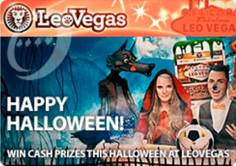 Win cash prizes this Halloween at LeoVegas