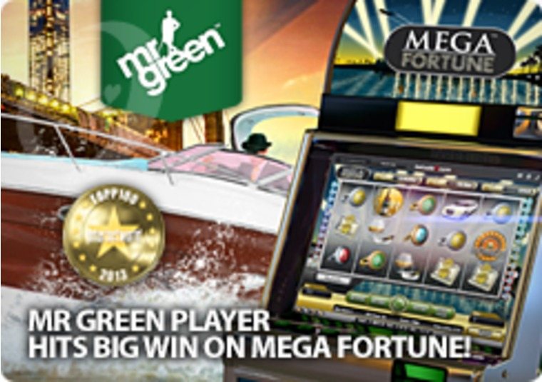 Mr Green Player Hits Big Win on Mega Fortune