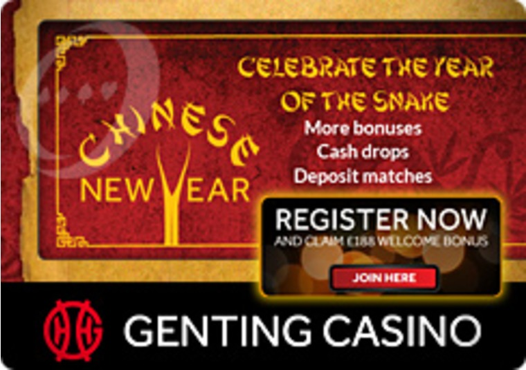 Wishes for Health, Wealth and Good Fortune at the Genting Casino