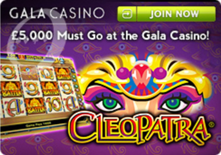£5,000 Must Go at Gala Casino