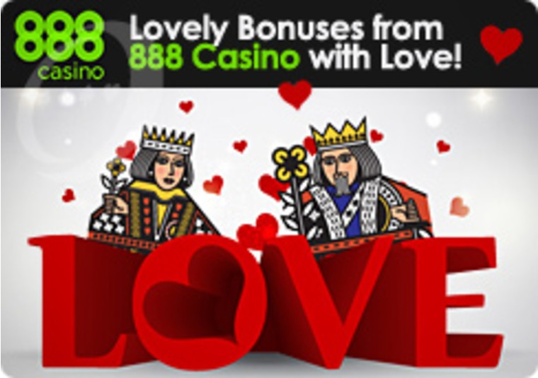 Lovely Bonuses from 888 Casino with Love
