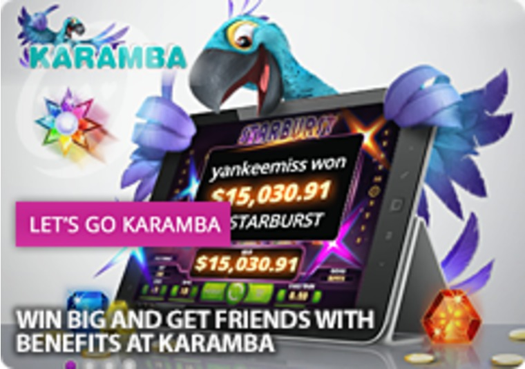 Win Big and Get Friends With Benefits at Karamba