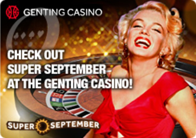 Check Out Super September at the Genting Casino
