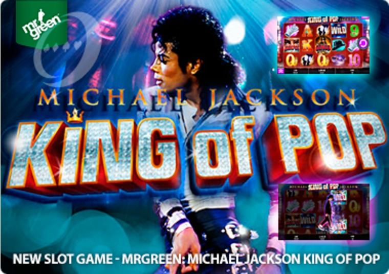 Play the New Michael Jackson King of Pop Slot at Mr Green