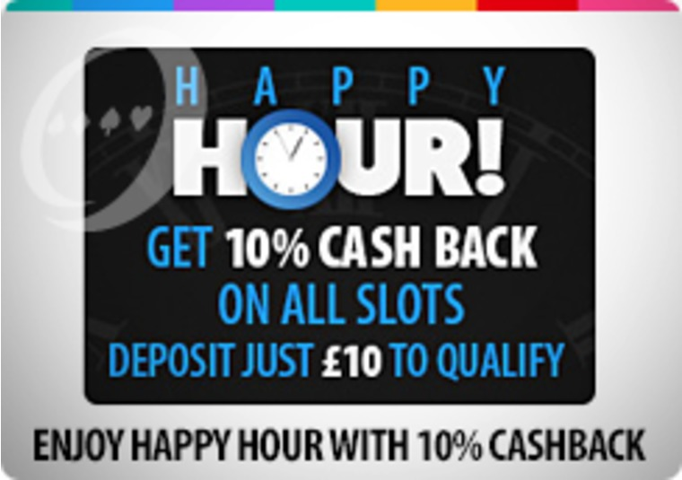 Get 10 percent cashback during Wednesday happy hour at bgo