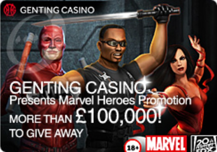 Marvelous Marvel Mania at the Genting Casino