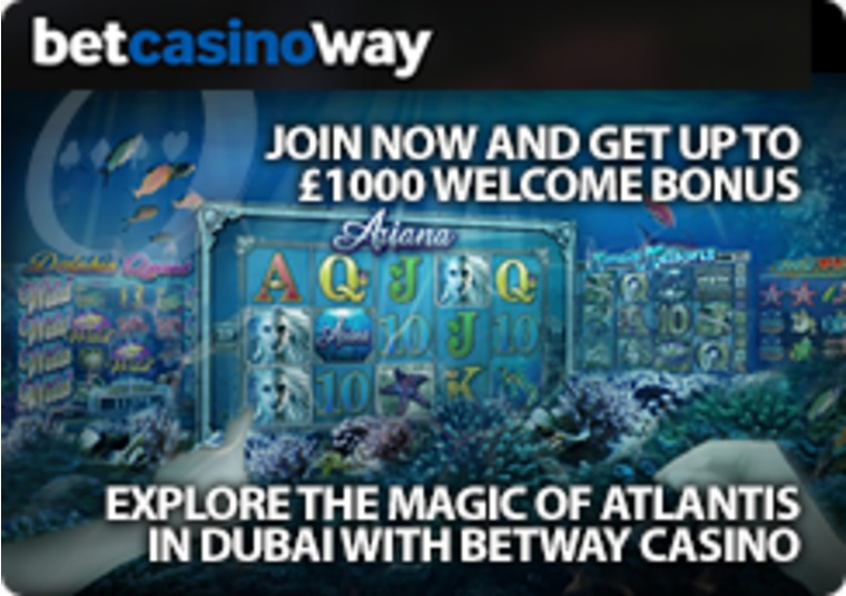Explore the magic of Atlantis in Dubai with Betway Casino