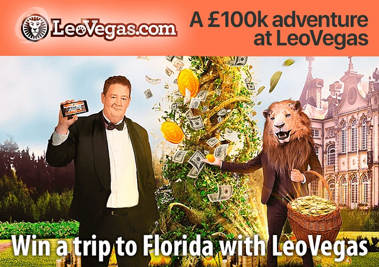 Win a trip to Florida with LeoVegas