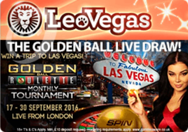 Enter the latest LeoVegas prize draw to win a trip to Las Vegas