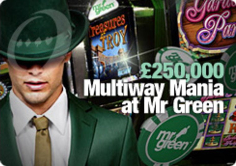 £250,000 Multiway Mania at Mr Green