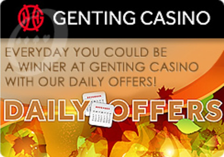 Fantastic Daily Offers This Month at Genting Casino
