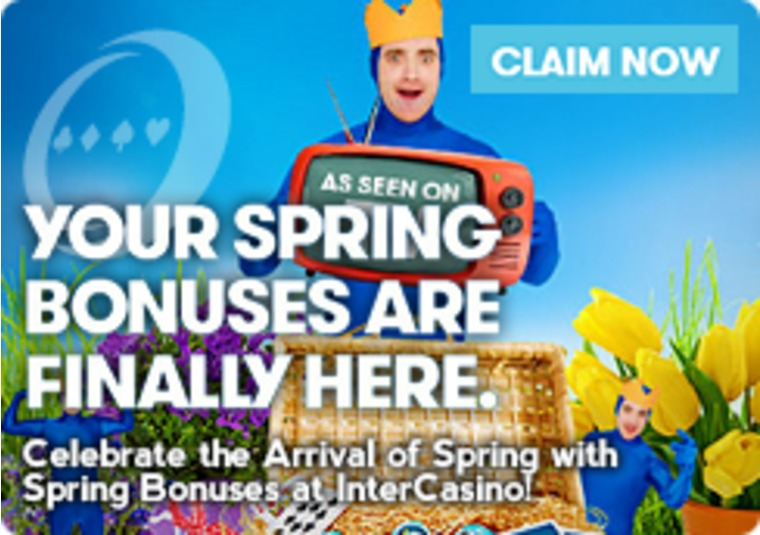 Celebrate the Arrival of Spring with Spring Bonuses at InterCasino