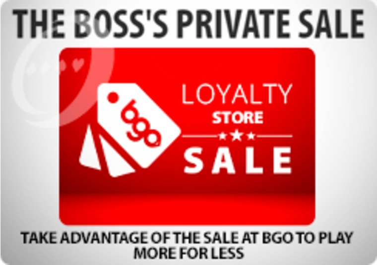 Take advantage of the sale at bgo to play more for less