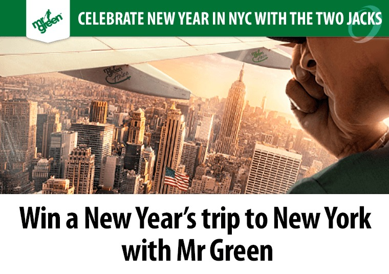 Win a New Year's trip to New York with Mr Green