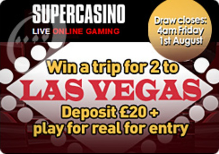 Aim for a Las Vegas Trip at Super Casino