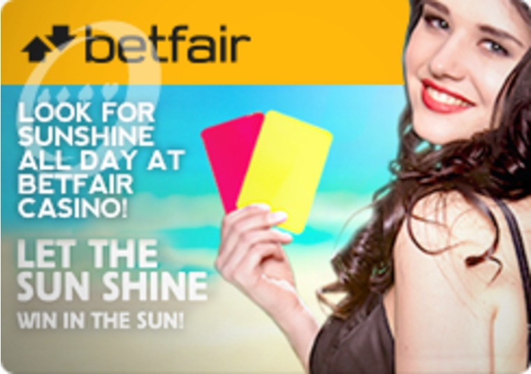 Look for Sunshine all Day at Betfair Casino