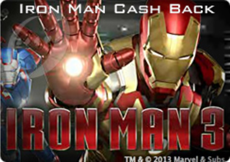 Gala Casino Offers Iron Man Cash Back