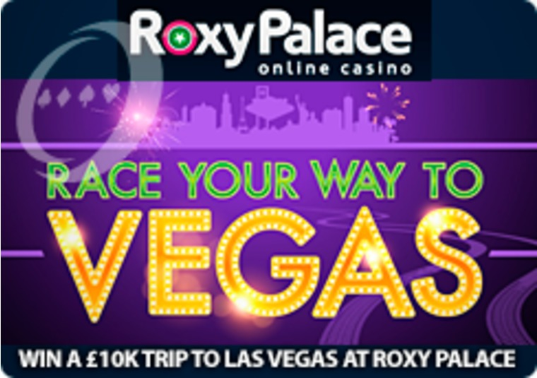 Win a £10k trip to Las Vegas at Roxy Palace