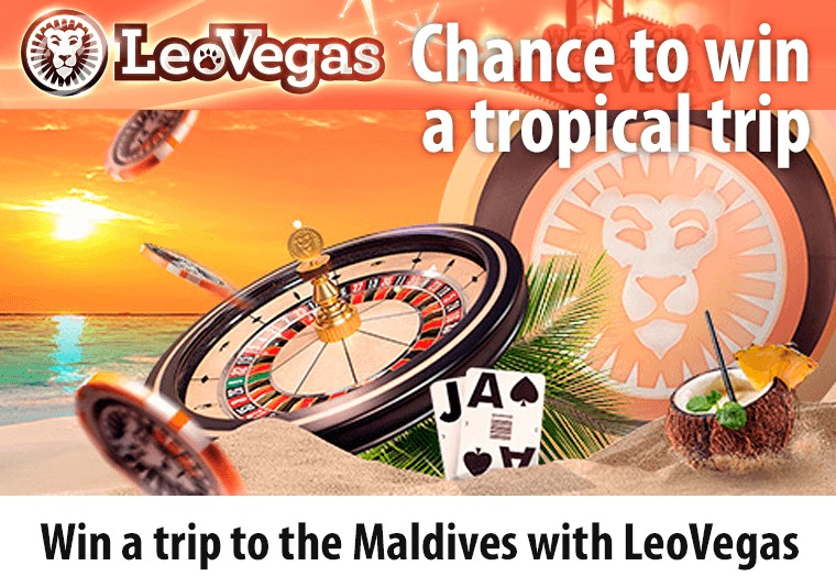 Win a trip to the Maldives with LeoVegas