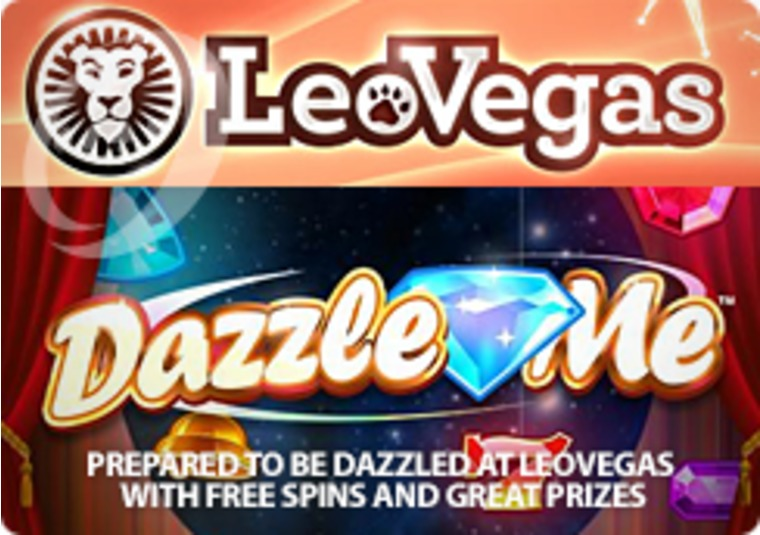 Prepared to be dazzled at LeoVegas with free spins and great prizes
