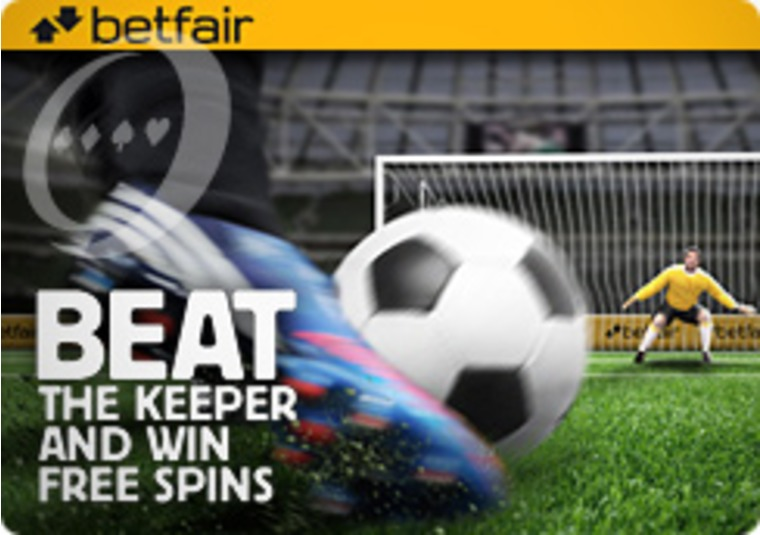 Take Your Daily Penalty at Betfair Casino